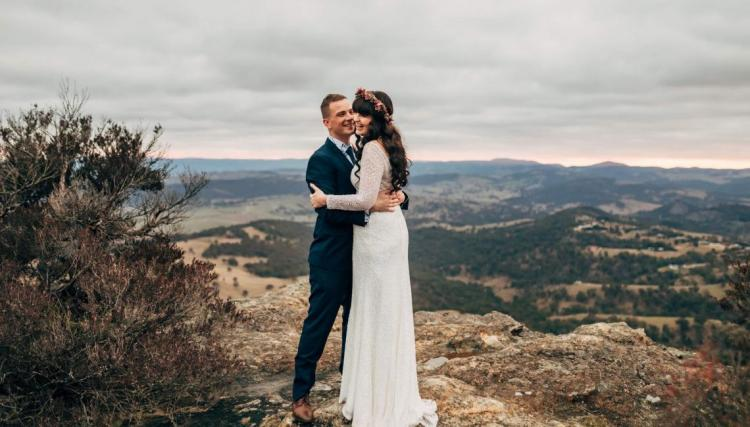 Budget friendly wedding venue secret creek