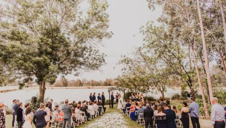 waterfront wedding venue cypress