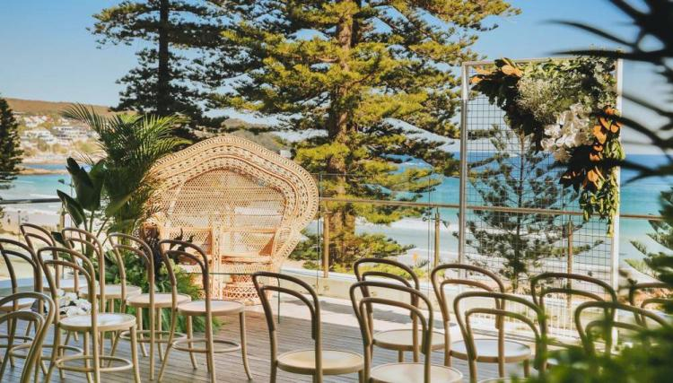 waterfront wedding venue manly beach