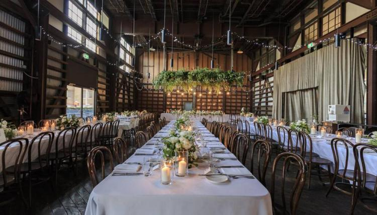 waterfront wedding venue ovolo