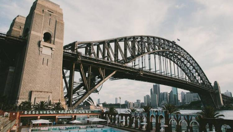 waterfront wedding venue sydney harbour bridge