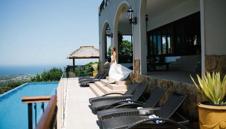 waterfront wedding venue villa