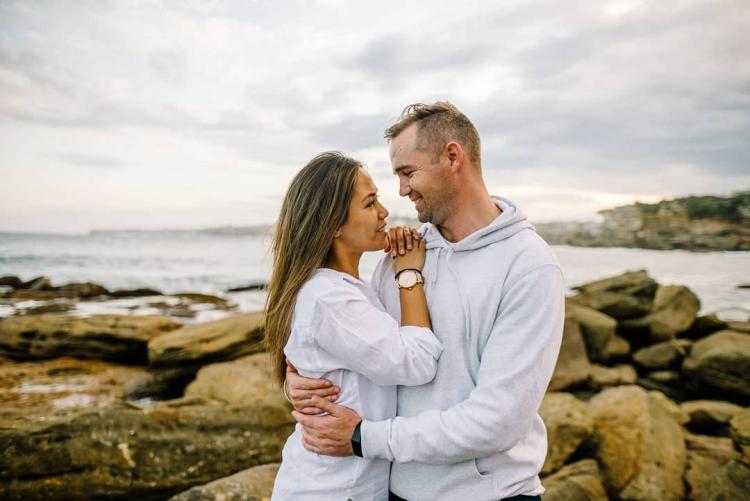 engagement photographer sydney harbour nsw