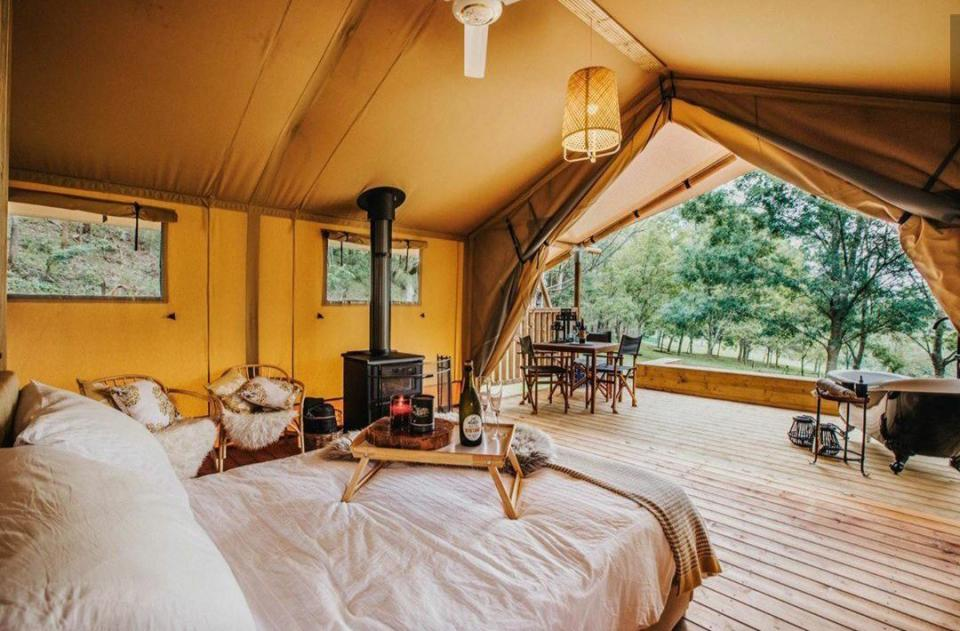 Glamping wedding venues in nsw
